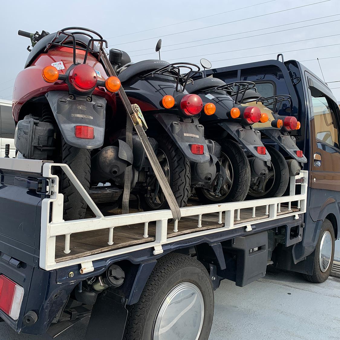 岸和田市でバイクの無料廃車をするなら|即日処分OKのバイク処分ドットコム