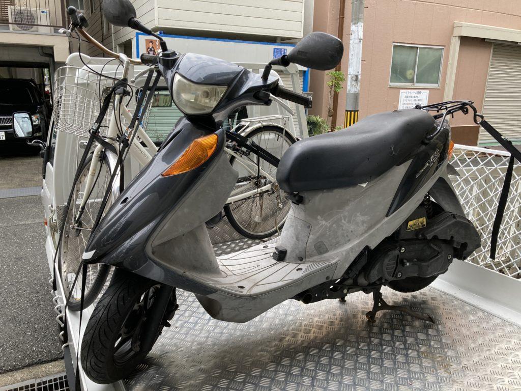 アドレスV125不動車買取